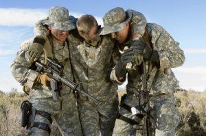נקע בקרסול בצבא